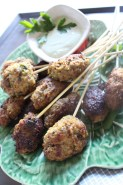 Lamb Koftas with Lemon Tahini Sauce