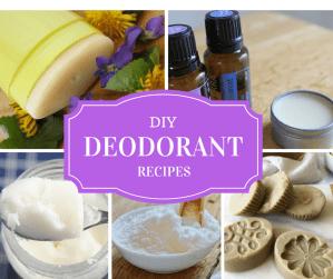 DIY Deodorant Recipes that Fight Odor Naturally