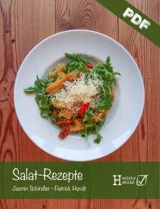 Salat-Rezepte-Screenshot mit PDF
