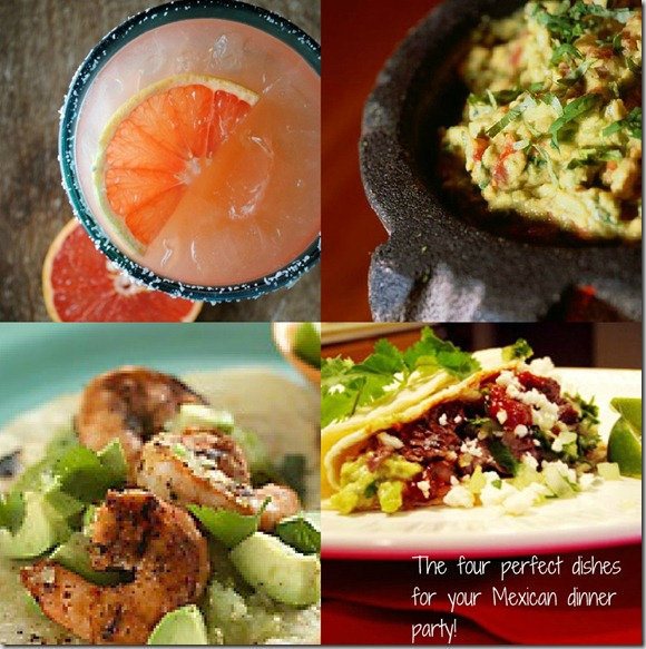 Mexican Dinner Party recipes