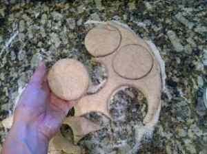 Cutting Biscuit Rounds