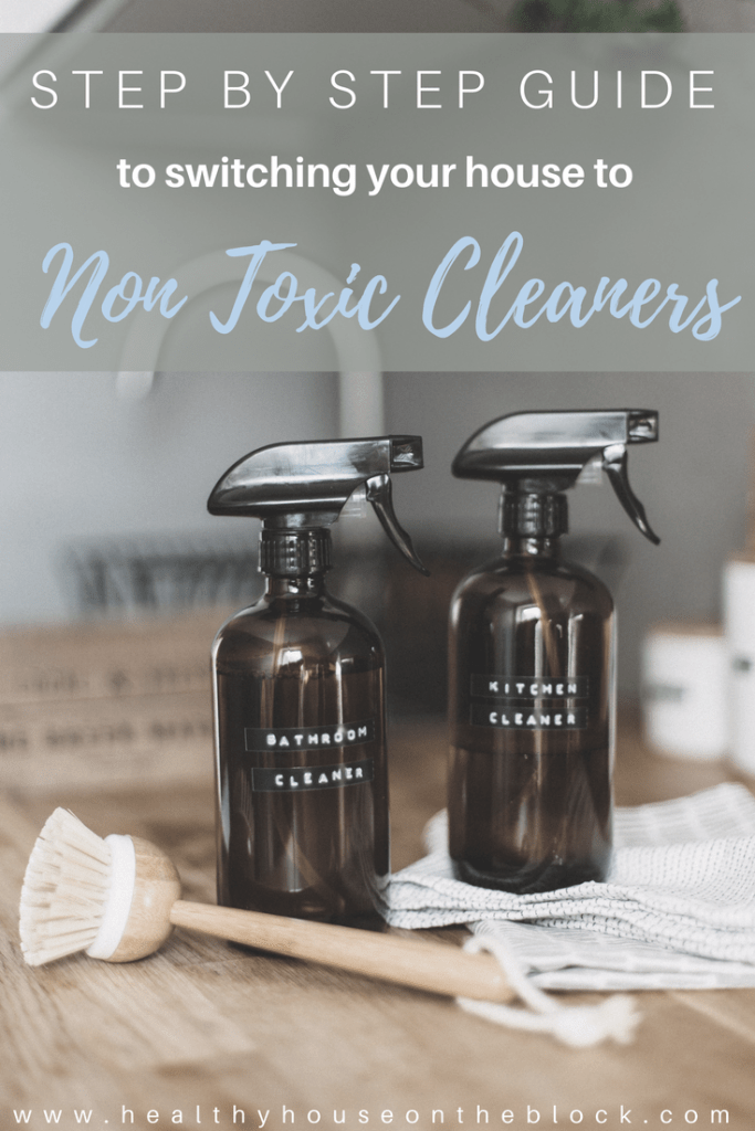 how to replace toxic cleaning products