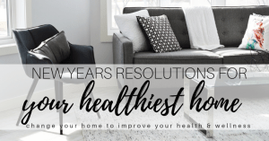 New Year Home Detox