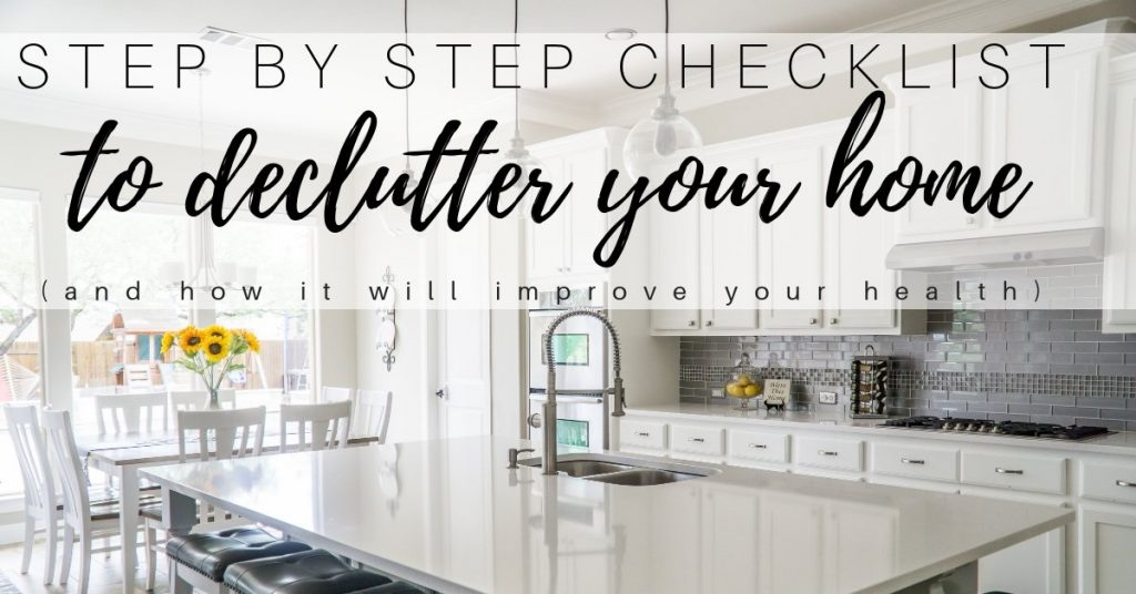 How to Declutter Your Home to Improve Your Health