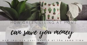 How Green Living at Home Can Save Money