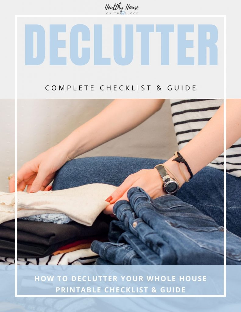 declutter guide and workbook