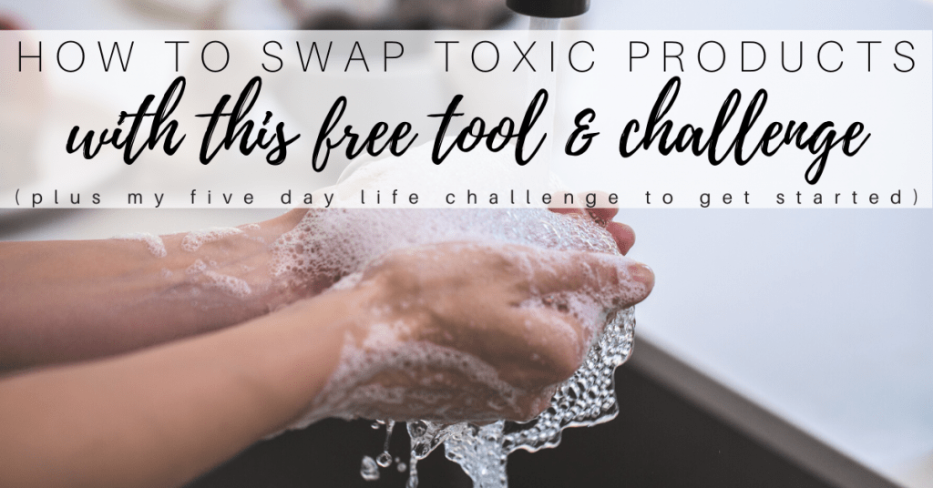 how to switch to natural cleaning products with a free app