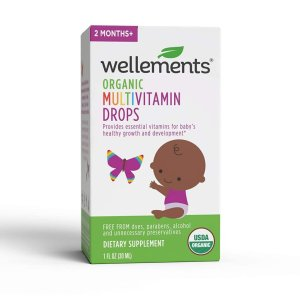 Wellements Organic Multivitamin Drops