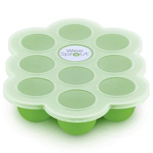 Storage Container for Homemade Baby Food, Vegetable & Fruit Purees and Breast Milk - BPA Free