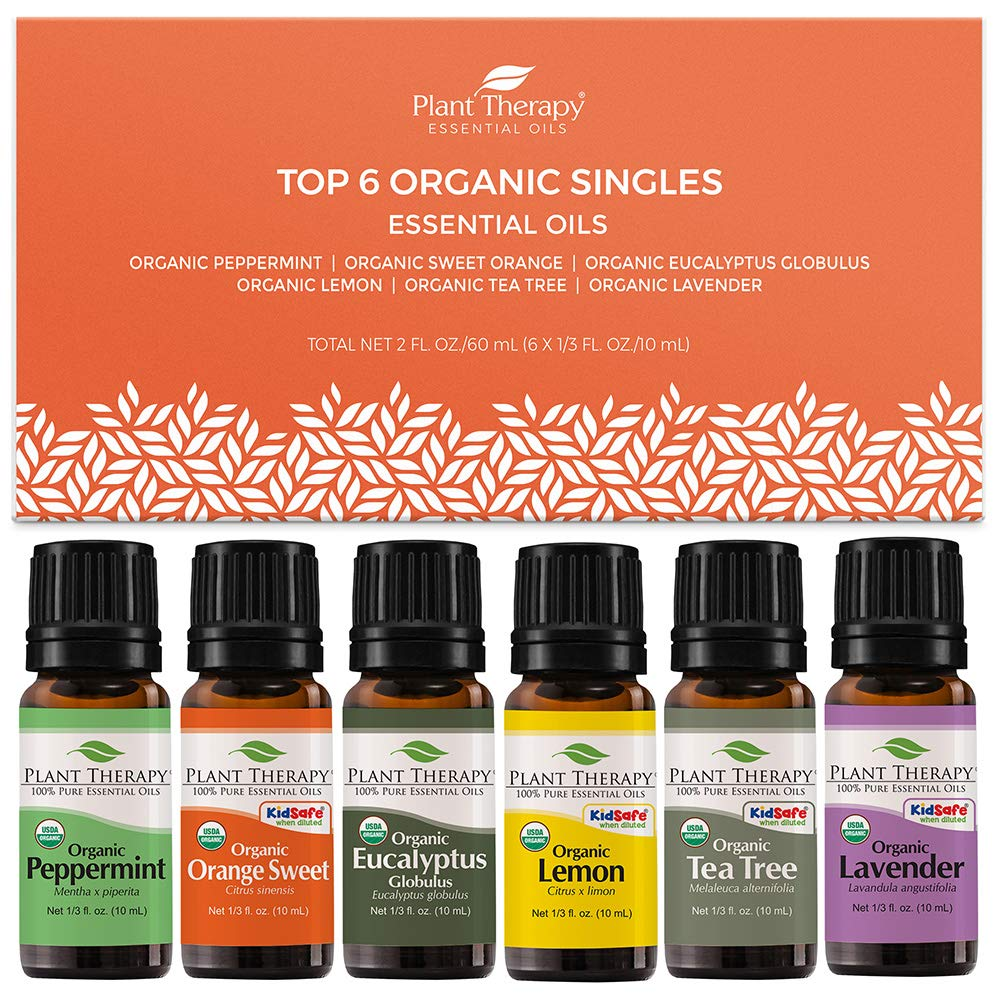 plant therapy certified organic essential oils