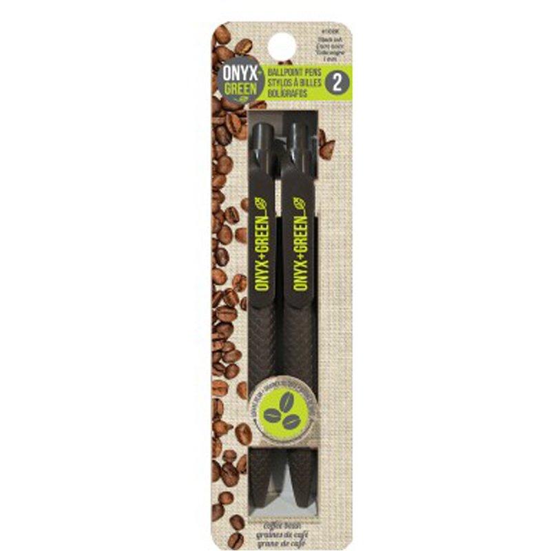 Onyx & Green Sustainable Pens (COUPON AMANDAK10)