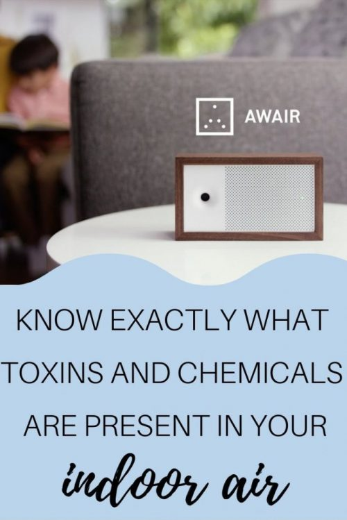 awair indoor air quality monitor to help you identify toxins and chemicals causing indoor air pollution