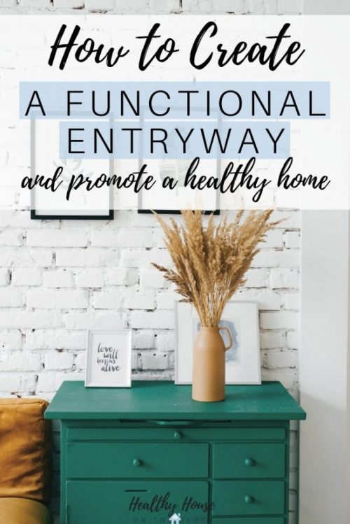 create a functional entry way to keep germs out