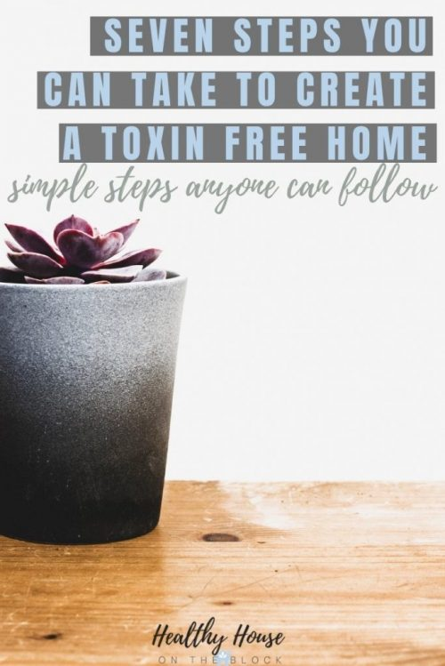 SEVEN SIMPLE STEPS TO A CREATE A TOXIN FREE HOME