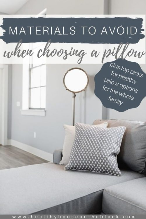 choose organic pillows