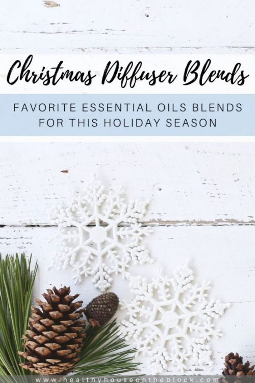 diffuser blends for christmas essential oils