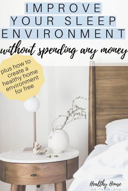 free ways to create a sleep sanctuary