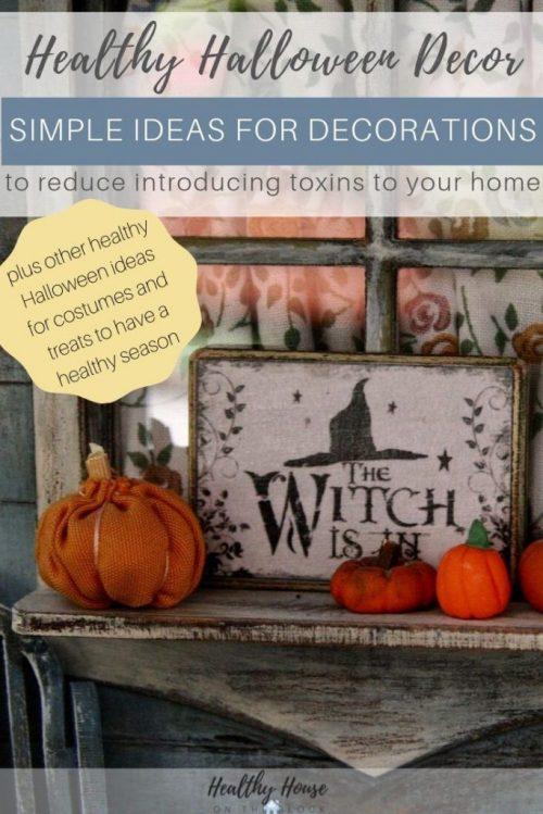 healthy halloween decorations