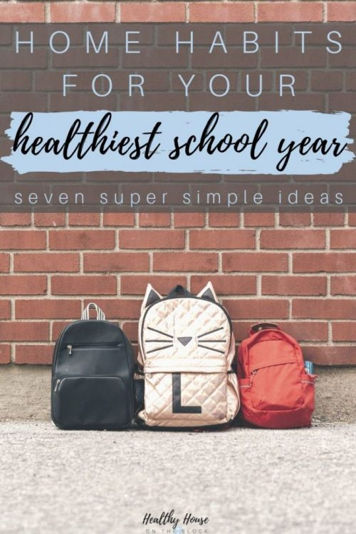 healthy school year ideas you can do at home