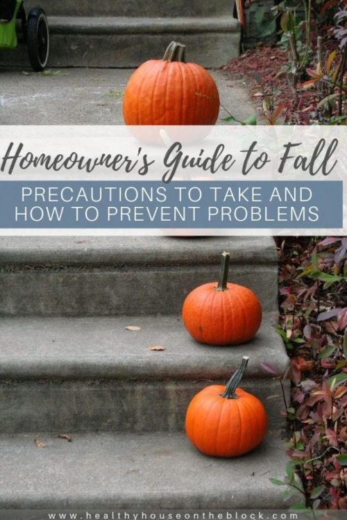 homeowners' guide to fall