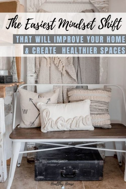 how to create a healthy  but cozy minimalist home with one simple mindset shift to being an ethical consumer