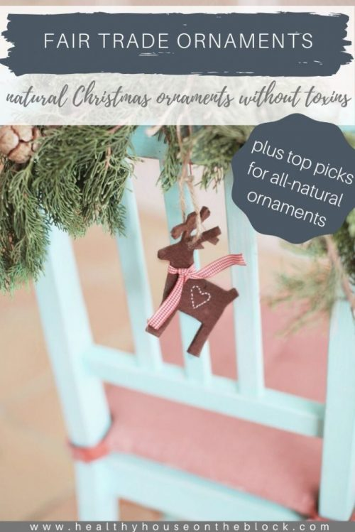 natural fair trade christmas ornaments