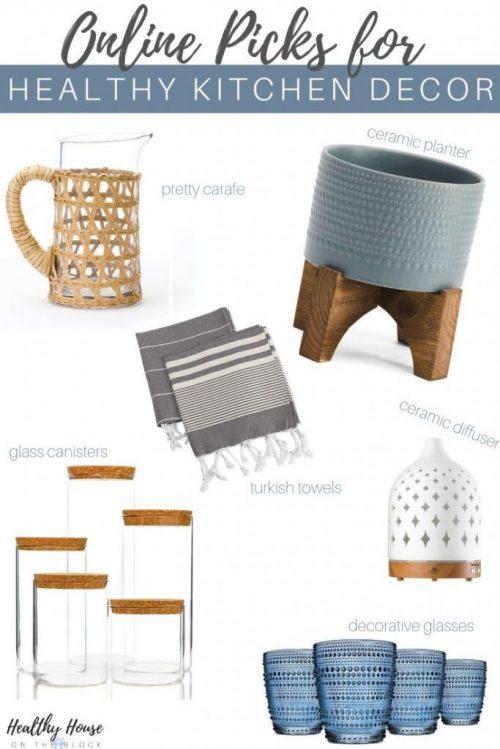 online picks for non toxic kitchen decor