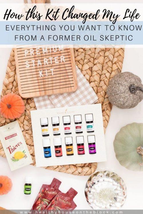 premium starter kit oils free young living promotion