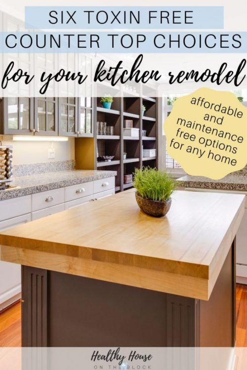 toxin free counter tops
