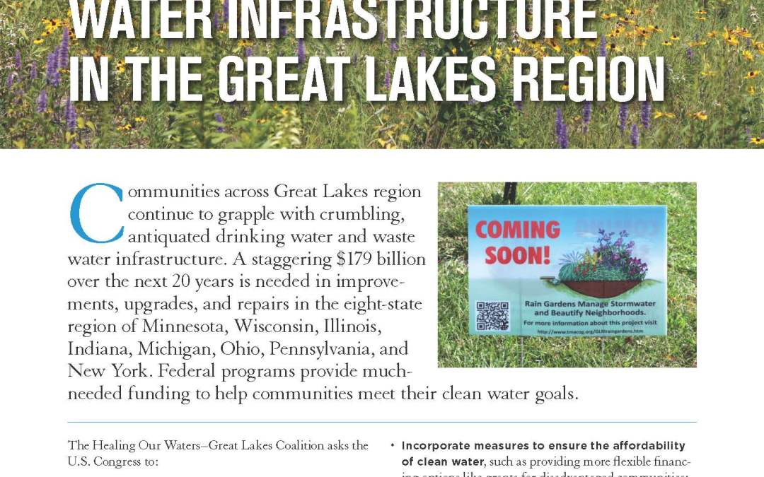 Water Infrastructure in the Great Lakes Region – 2018