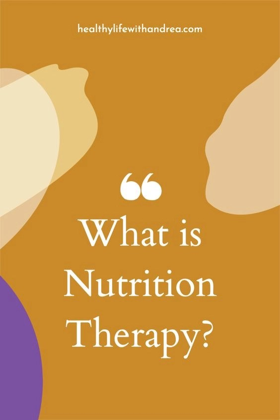 what is nutrition therapy