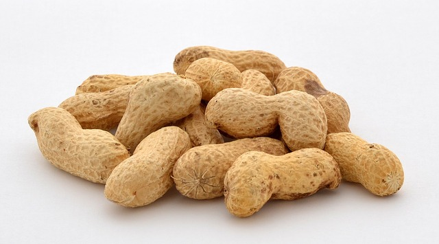 Peanuts contain 24.6mg per cup