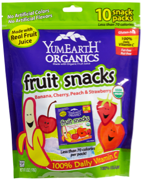 YumEarth Organics Fruit Snack Pack