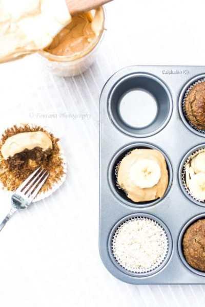 Breakfast Banana Oatmeal Cupcakes