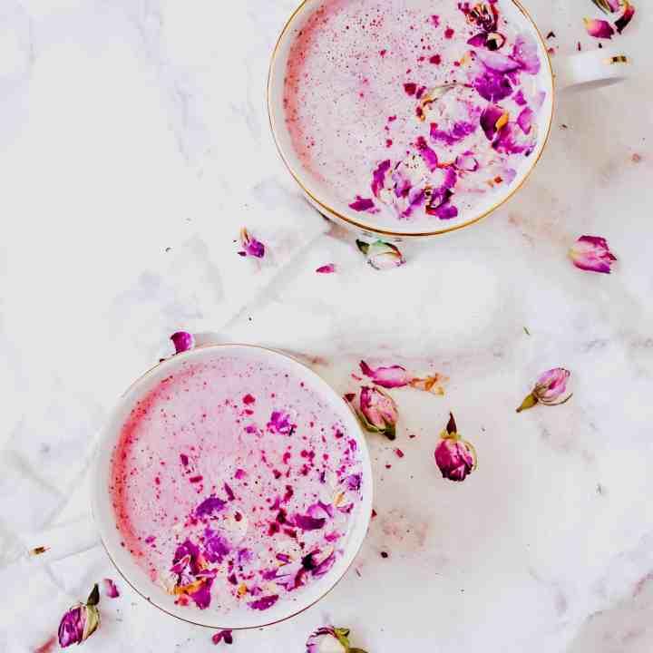 Pink Pitaya Moon Milk