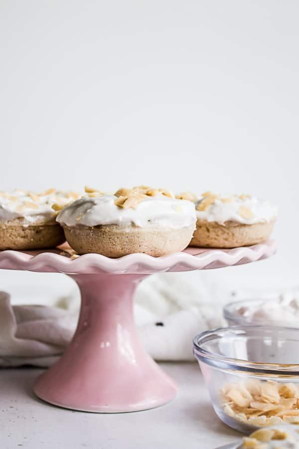 coconut cream pie doughnuts