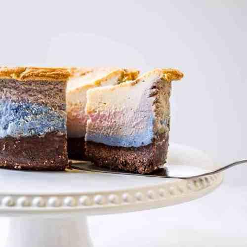 unicorn superfood cheesecake