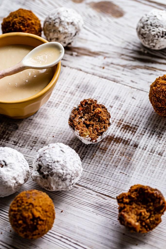 gluten free vegan doughnut holes