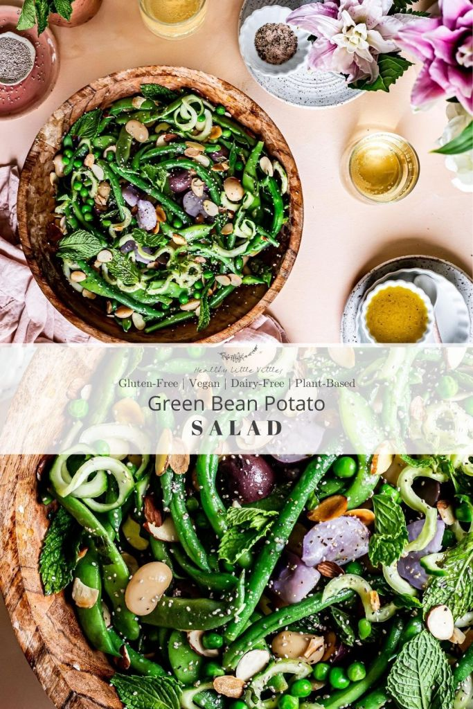 green bean potato salad