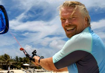 Richard Branson, Healthy Living + Travel