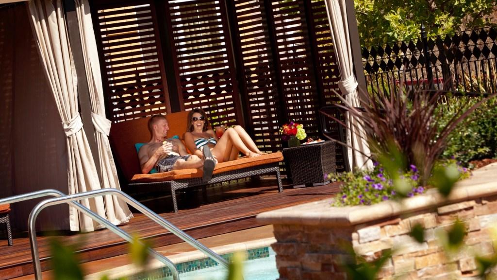 Spa Terra, Meritage Resort Napa Valley, Spas of California, Spas of America