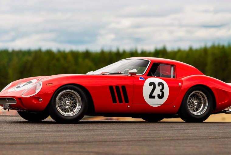 1962 Ferrari GTO, Healthy Living + Travel