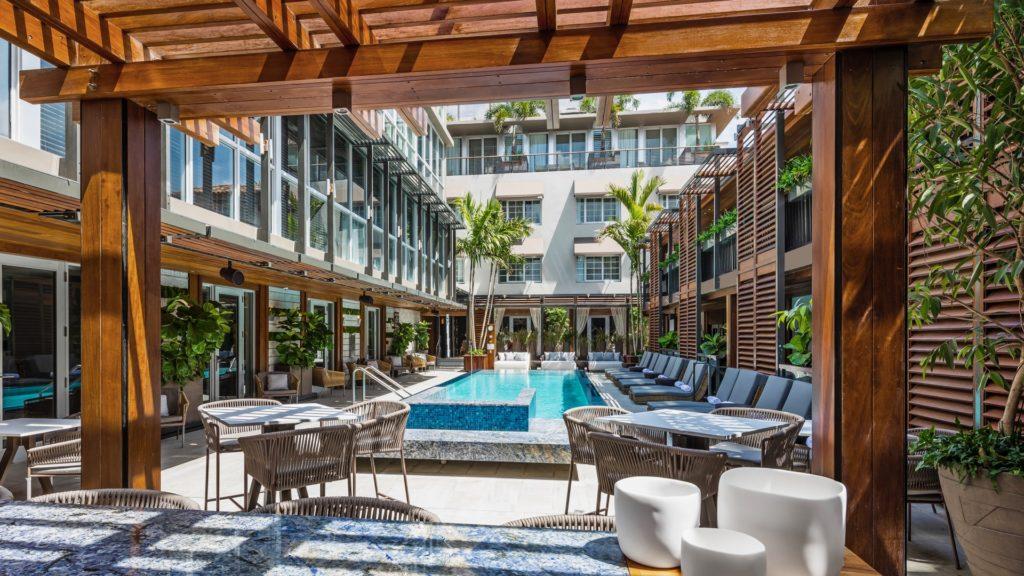 Pool, Lennox Hotel Miami, Healthy Living + Travel