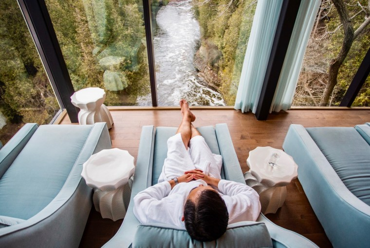 Relaxation, Elora Mill Hotel & Spa, Healthy Living + Travel