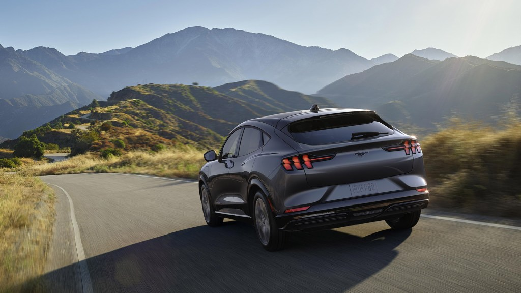 2021 Ford Mustang Mach-E Charcoal, Healthy Living + Travel