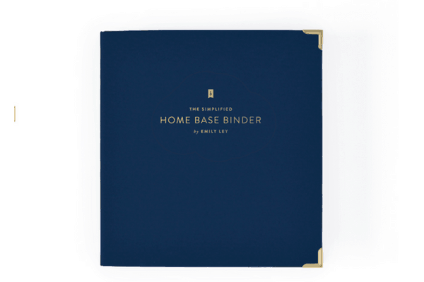 Home Base Binder   Emily Ley Simplified