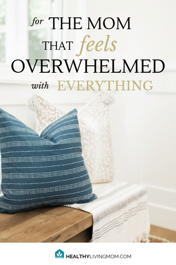 Overwhelmed as a mom? It might be easier to fix than you think! Overwhelm isn't because you don't know how to do something...but because of this one thing. #simplified #overwhelmedmom #thisismotherhood