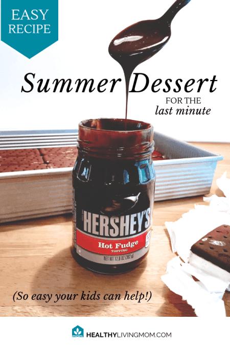 Easy Summer Dessert Recipe - for the last minute planner!
