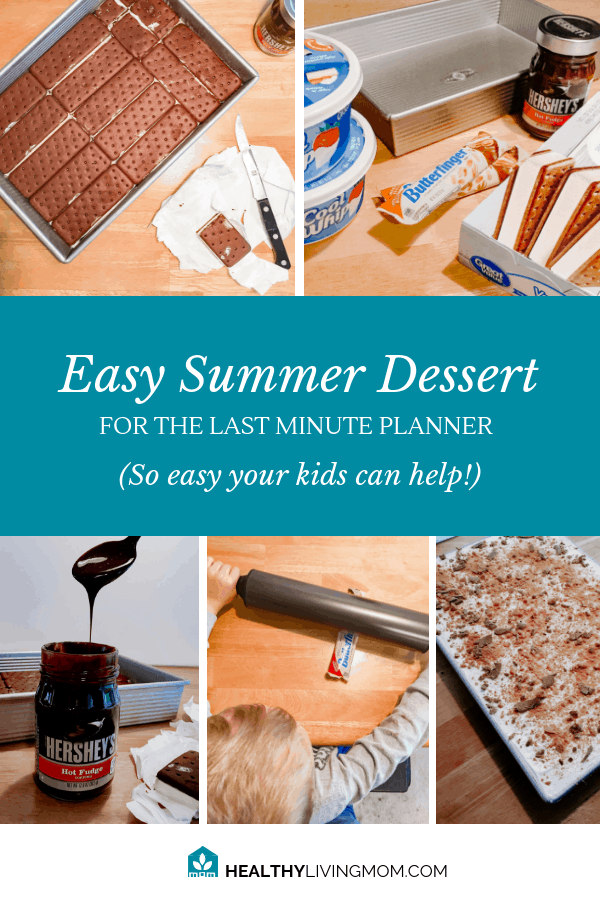 Summer means potlucks and parties and you need to bring something—but you've waited til the last minute. Here's the perfect easy summer dessert recipe!