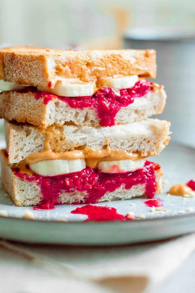 sweet sandwiches